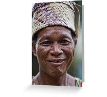 Orang Asli Greeting Card