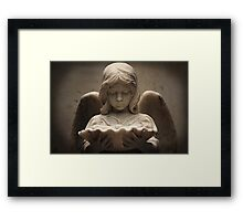 Weeping Angel 1 Framed Print