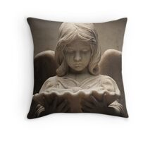Weeping Angel 1 Throw Pillow
