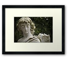 Weeping Angel 2 Framed Print