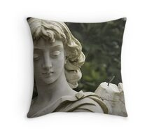 Weeping Angel 2 Throw Pillow