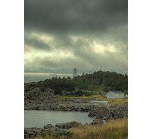 Hant's Harbour Light Photographic Print