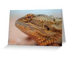 dragon eye Greeting Card