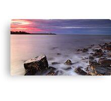 """Point Frederick Sunset"" Canvas Print"