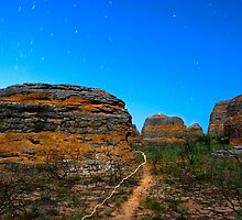 light the outback path by Les Pink