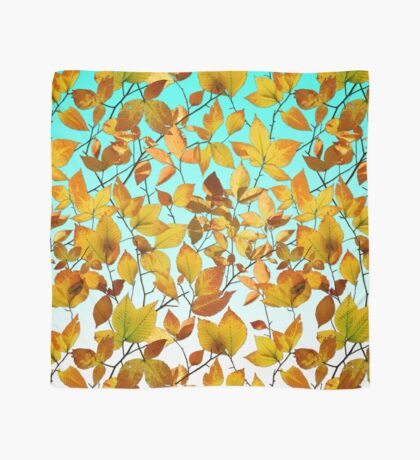 Maine Autumn Leaves Scarf