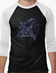 Back To The Primitive Horror Men's Baseball ¾ T-Shirt