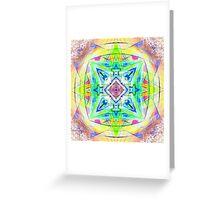Mandala Digital Nu Dop light Greeting Card