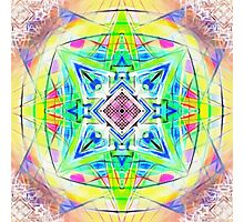 Mandala Digital Nu Dop light Photographic Print