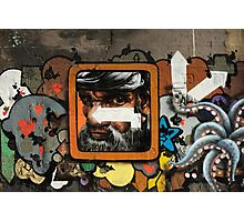 Graffiti wall, Glasgow. Photographic Print