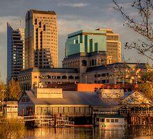 Downtown Sacramento Riverfront by SolanoPhoto