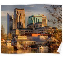 Downtown Sacramento Riverfront Poster