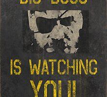 Big Boss Is Watching You! by wearz