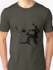 pokemon eevee espeon umbreon anime manga shirt T-Shirt