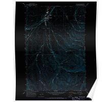 USGS Topo Map Oregon Pilot Rock 281090 1967 24000 Inverted Poster