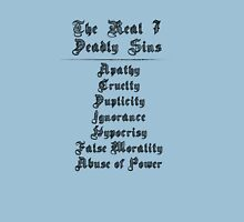 THE REAL 7 DEADLY SINS Unisex T-Shirt
