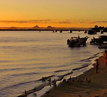 Bribie Island & The Glasshouse Mountains. Queensland, Australia. (2) by Ralph de Zilva