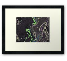 Turtle Is Drowning Framed Print