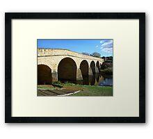 Oldest bridge in Australia-built 1823 - Tasmania Framed Print
