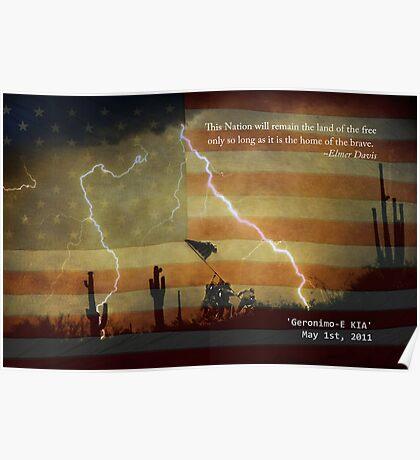 Operation Geronimo-E KIA Poster