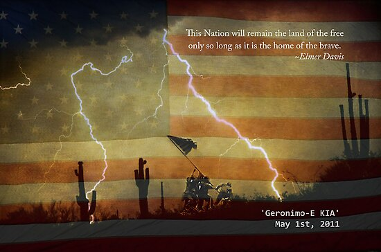 Operation Geronimo-E KIA by Bo Insogna