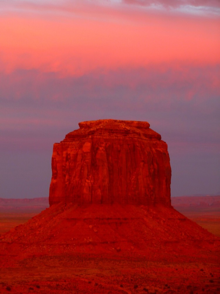 Merrick Butte, Monument Valley by supergold
