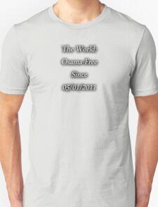 Osama-Free World Unisex T-Shirt