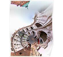 Piazza dei signori - Basilica Palladiana Poster