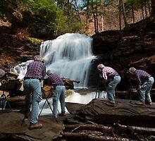 Nature Photographer at Work by Mark Van Scyoc