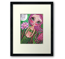 """Cancer (Zodiac Mermaid)""  Framed Print"