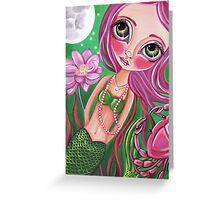 """Cancer (Zodiac Mermaid)""  Greeting Card"