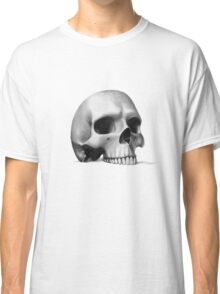 """""""call me morbid...""""  realistic pencil skull Classic T-Shirt"""