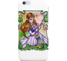 Zelda from The Legend of Zelda iPhone Case/Skin