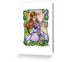 Zelda from The Legend of Zelda Greeting Card