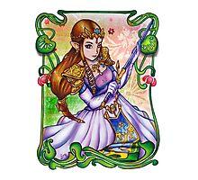 Zelda from The Legend of Zelda Photographic Print