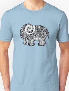 Elephant Doodle Unisex T-Shirt