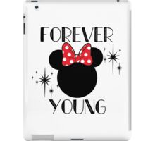Forever Young Minnie Mouse iPad Case/Skin