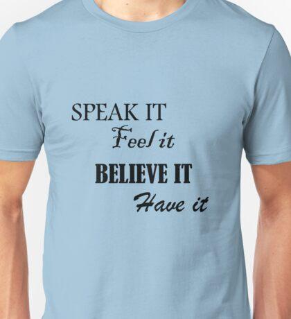 LOA: Manifest It! Unisex T-Shirt