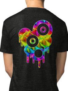 Circles & Drips 2 Tri-blend T-Shirt