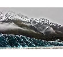 Mount tasman glacier Photographic Print
