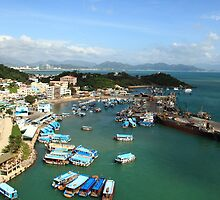 Nha Trang Harbour Vietnam by Stevii