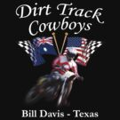 Dirt Track Cowboys Option 1 by Michael Lee