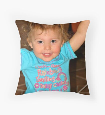 Yippee....  Throw Pillow