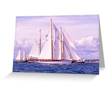 Grouped Together Greeting Card