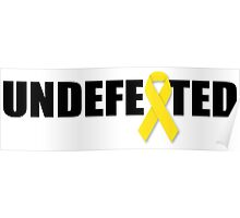 Undefeated By Cancer Poster