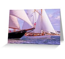 Keeping Pace Greeting Card
