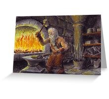 Thorin in Blue Mountains Greeting Card