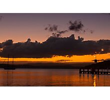 Lake Macquarie  Belmont  NSW Photographic Print