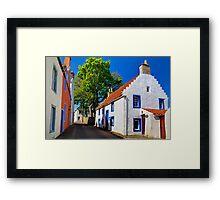Sunny Cottage Framed Print