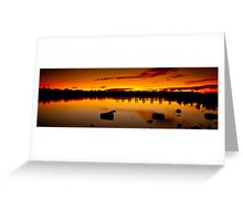 ∞ Under a Blood Red Sky ∞ Greeting Card